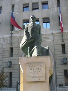 Il presidente Salvador Allende