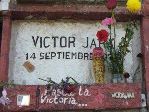La tomba di Victor Jara