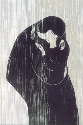 Il bacio - Otto Munch