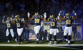 Hands up, don't shoot  St. Louis Rams